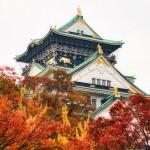 大阪城紅葉 (2)